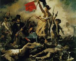 Delacroix, a liberdade guiando o povo, 1830