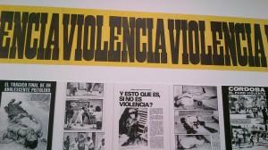 Juan Carlos Romero, Violência, 1973-1977 (impressão sobre papel)
