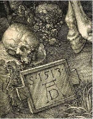 dürer detalhe o cavaleiro... 1513