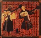 Tapeçaria de Bayeux medieval século 12