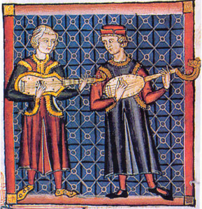 Trovadorismo medieval século 12