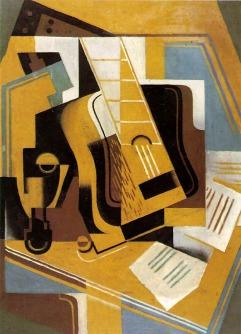 Juan Gris (Madri, Espanha, 1887- Boulogne-Billancourt, França, 1927) The Musician on the Table, 1926