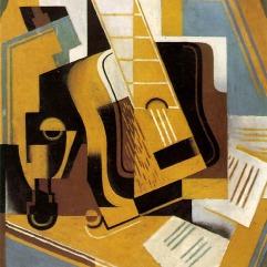 Juan Gris (Madri, Espanha, 1887- Boulogne-Billancourt, França, 1927) The Musician on the Table, 1926