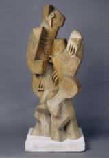 Jacques Lipchitz (Druskiemiki, Lituânia, 1891-Capri, Itália, 1973) Marinheiro com guitarra, 1917