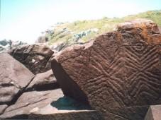 23 sepulturas no sítio arqueológico Cabeçudas, em Laguna, no Sul de Santa Catarina c. 2.000 a. C.