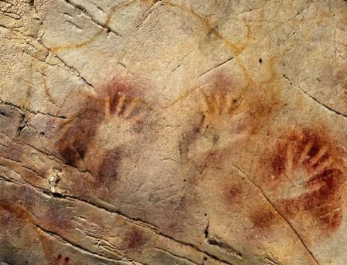 Caverna de El Castillo, Espanha, 40.800 a.C. In: Ciência e Saúde Globo.com (foto AFP)