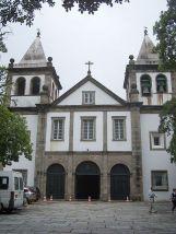 Fachada do Mosteiro de São Bento na cidade do Rio de Janeiro