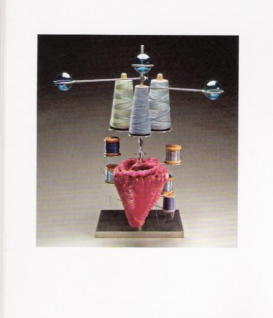 Coração coeur-de-louise bourgeois, 2004