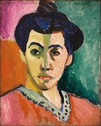 (Le Cateau-Cambrésis, França, 1869- Nice, França, 1954) Madame Matisse, 1905. Óleo sobre tela, 40,.5 cm × 32,5 cm. Statens Museum for Kunst