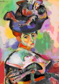 Matisse (Le Cateau-Cambrésis, França, 1869- Nice, França, 1954), Mulher com Chapéu, 1905. Óleo sobre tela 80,6 x 59,7 cm. Coleção particular.