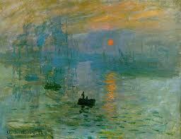 Claude Monet (Paris, França, 1840 - Giverny, França, 1926), Impressão, nascer do sol, 1872. Óleo sobre tela 48 x 63 cm. Museu Marmottan Monet, Paris.