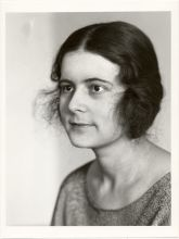 Ise Frank (Wiesbaden, Alemanha, 1897- Lexington, Massachusetts, EUA, 1983. Foto 1924.